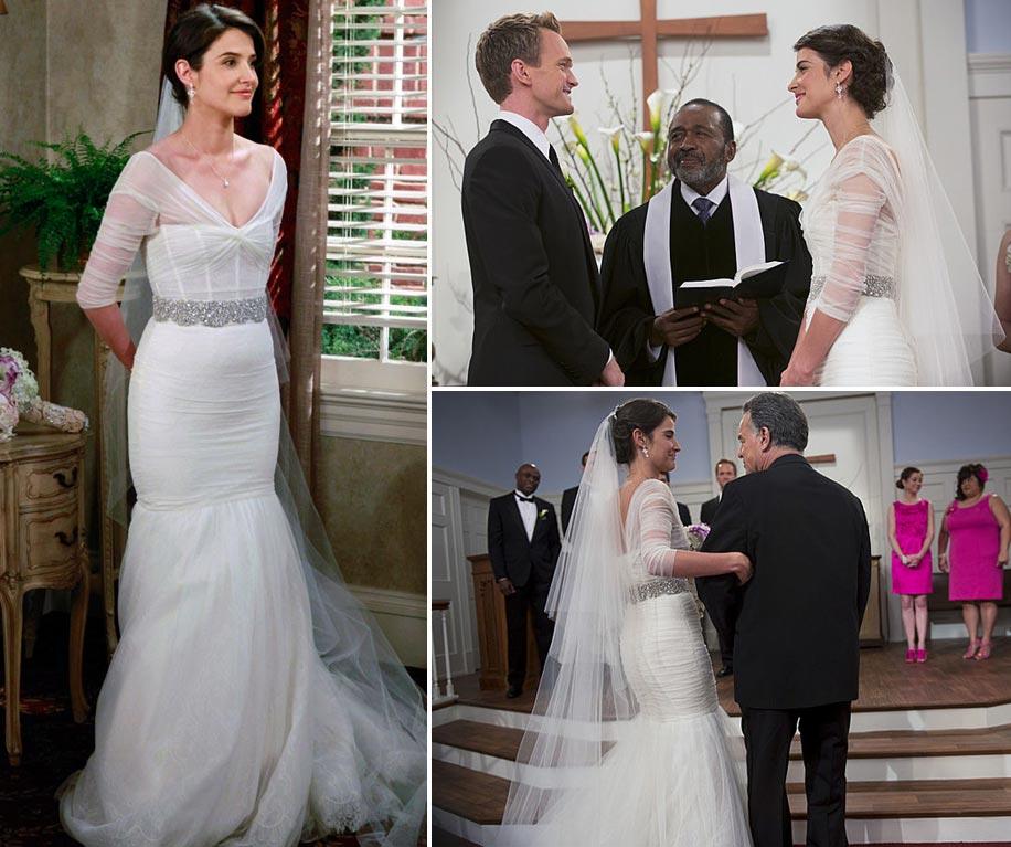 The best onscreen wedding dresses for Friends wedding dress